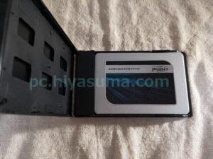 ガチャポンパッ!mini3.0にSSDのCrucial MX500 500GBを取り付ける