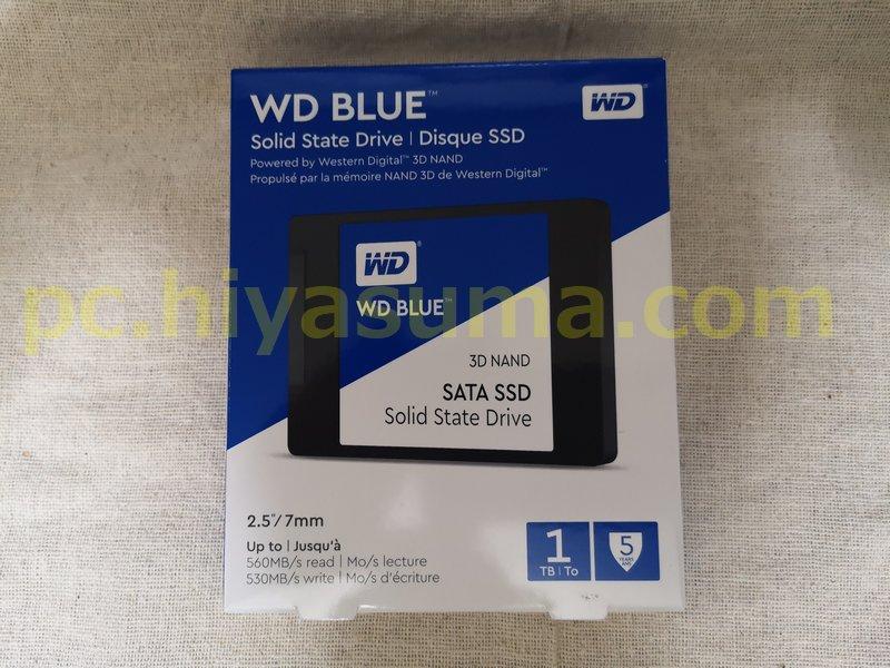 WD Blue 3D 1TB WDS100T2B0Aを購入しました