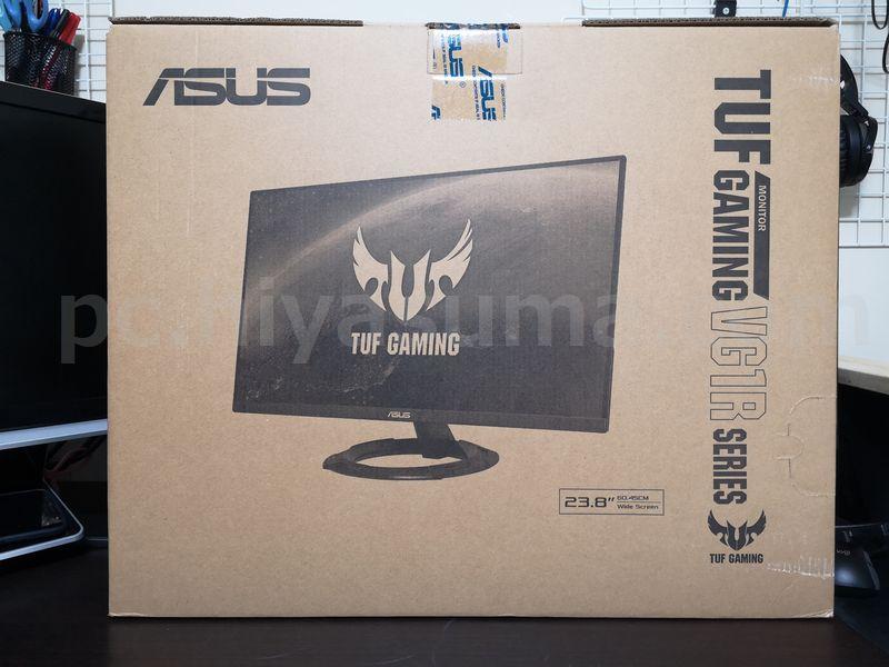 ASUSのTUF Gaming VG249Q1R-Jが届く